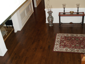 We can make your hardwood flooring look brand new with our hardwood floor refinishing.